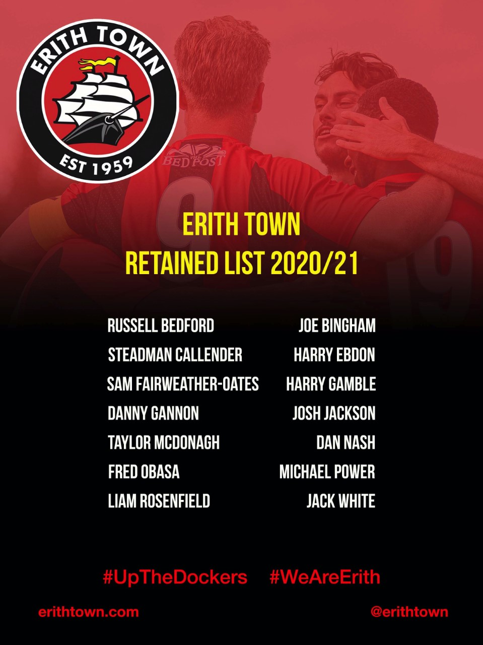 ETFC Retained List 20-21