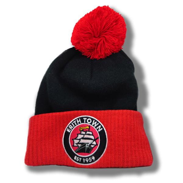 ETFC Bobble Hat (red/black)
