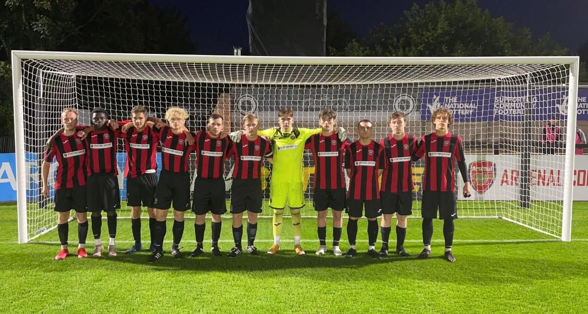 Academy team vs. Boreham Wood