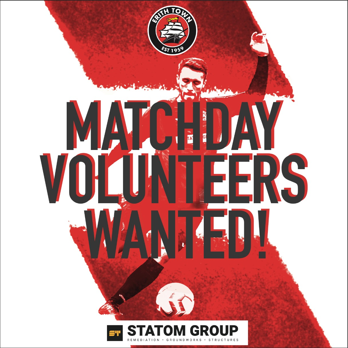 Matchday Volunteers Wanted